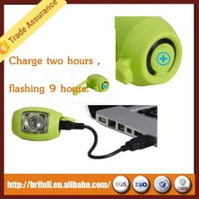 Wholesale bike parts rechargeable usb led bike light