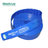 Irrigation flexible 10 inch pvc agriculture lay flat hose
