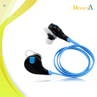 In Blue Color Custom Branded Small Dual Double Bluetooth Wireless Headphones For TV PC