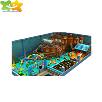 Kids Soft Indoor Pirate Ship Playground