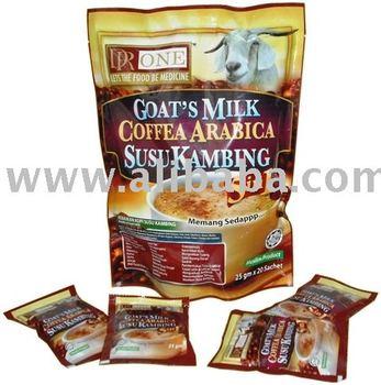 Goat milk coffee