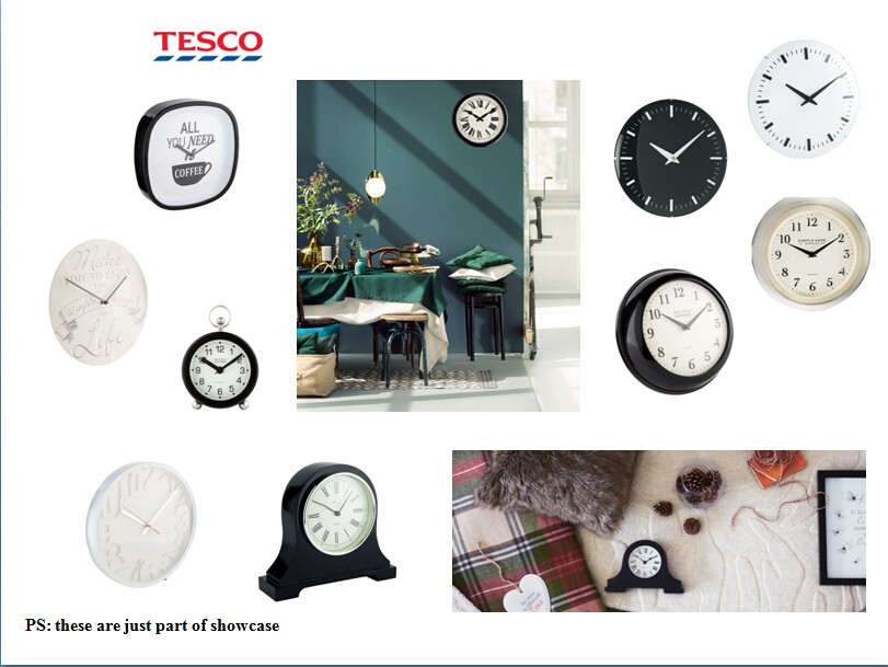 23cm Kitchen Wall clock China factory direct wholesale wall mounted clock