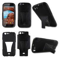 wholesale phone case hybrid kickstand combo case for ZTE Sonata Radiant Z740