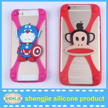 Cheap price Custom 3d cartoon cell phone case silicone cover for phone accessory