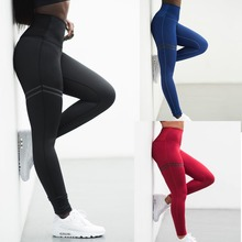 2018 Wholesale custom printed women yoga leggings activewear fancy polyester women yoga pants