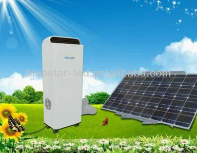 Portable Battery Supported 100% solar powered solar air conditioner