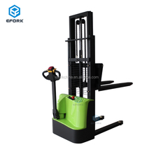 Bias Electric Stacker battery forklift powered electric pallet stacker with low price and CE