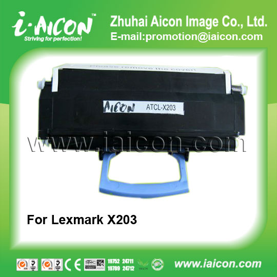 Compatible laser cartridge for Lexmark X203n/X204n