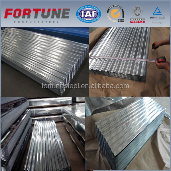 High Tensile Carbon Steel Corrugated Galvanized Roof Sheet Sliding Panels