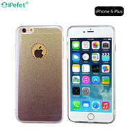 High Quality Gradient Color Bling Sparkle Diamond TPU Phone Case Cover For iPhone 6/s