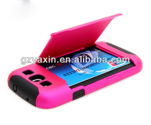 New arrival mobile phone cases with card holder for samsung galaxy s3
