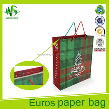 2017 Best selling Euro styling of the paper bag for church activity