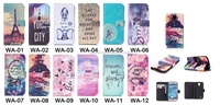 For Galaxy S4 mini i9190 Wallet PU case, for Galaxy S4 mini Flip leather case,
