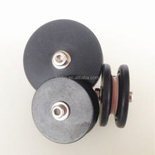 Electric ceramic wire guide cable roller pulley for coil winding