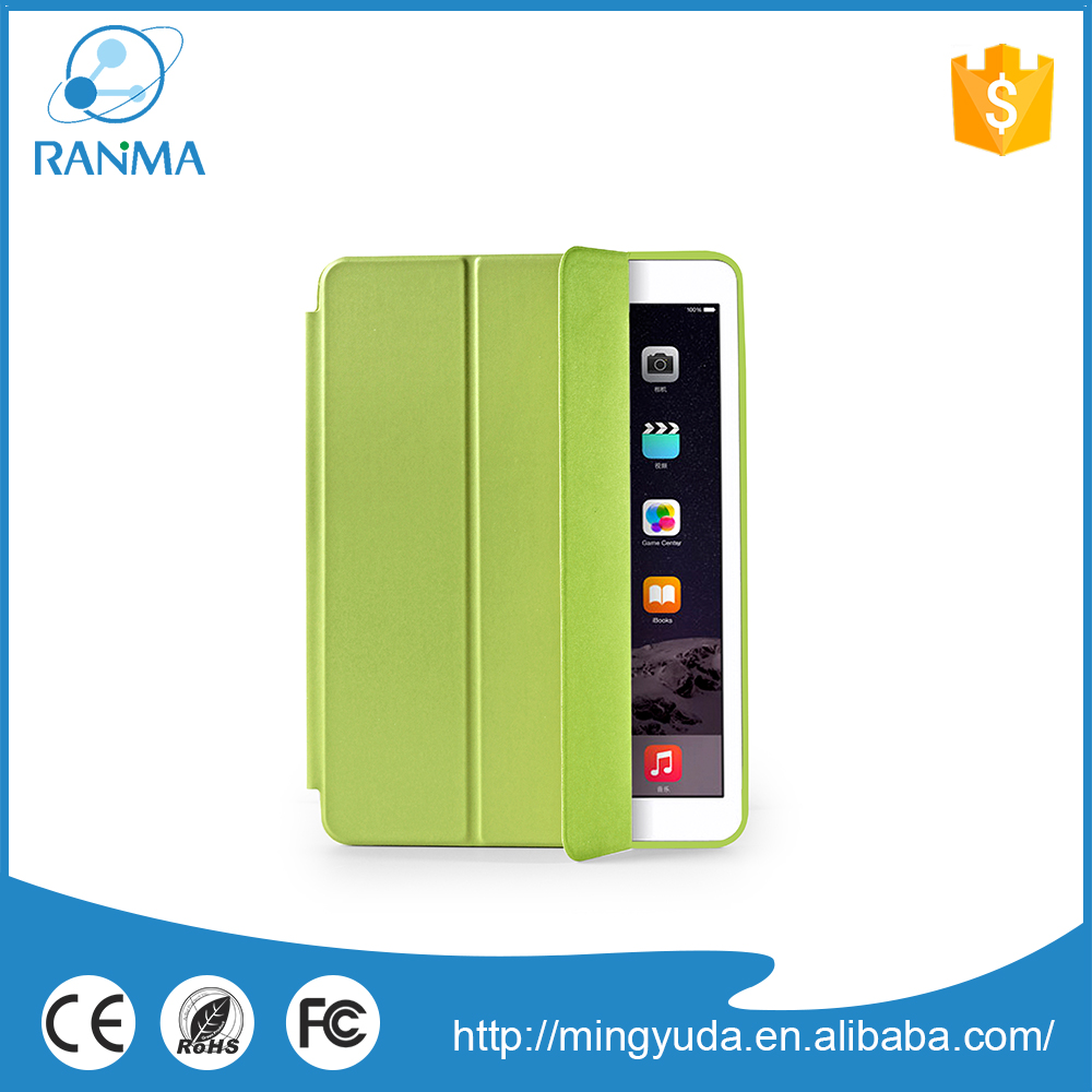 Wholesale Alibaba flip stand leather cover case for ipad 6