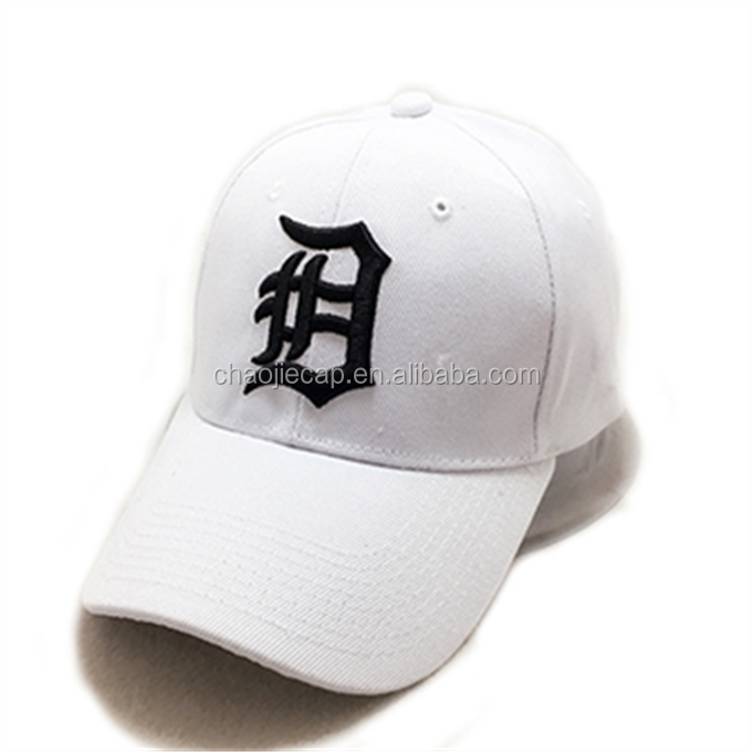 Custom design 6 panel embroidery baseball hat and cap