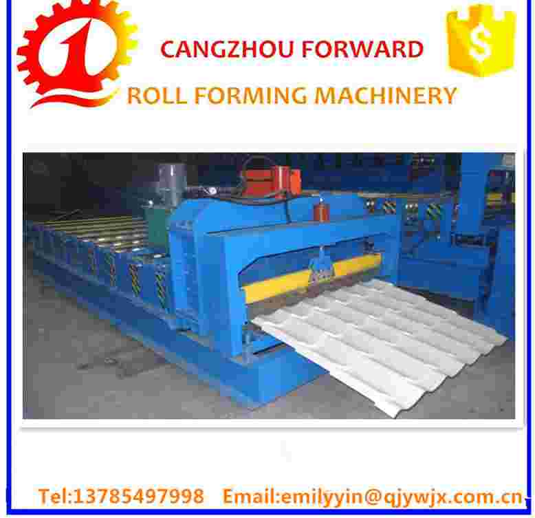 2016 hot sale China Botou Supplier tile machine for sale&roof tile sheet rolling forming machine&photo glazing machine