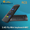 2.4G Air Mouse with Speaker Microphone Universal Remote Control for Android TV Box Stick Media Player