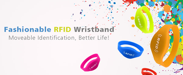HUAYUAN Customized Barcode Tag Fabric Festival Wristband for Events