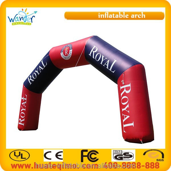 2016 High quality advertising inflatable entrance arch, inflatable arch rental for sale