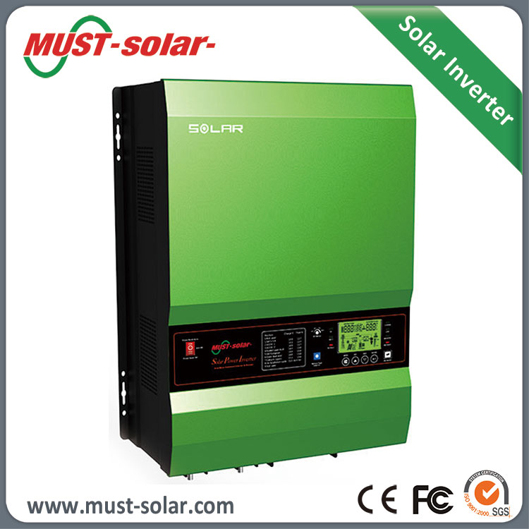 <MUST SOLAR>48VDC soalr inverter with charger 12kw power inverter with capable os starting electric