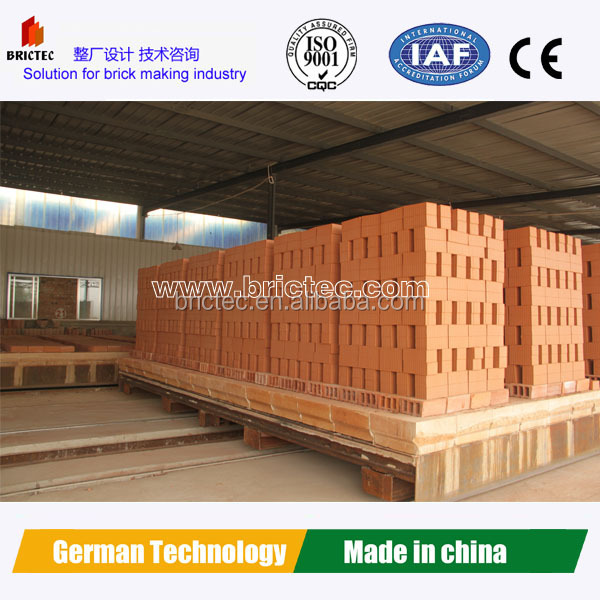 Turn-key tunnel kiln for ceramic tiles and bricks with brick machine price
