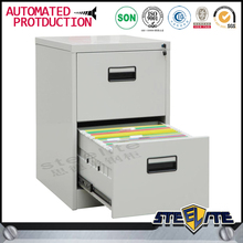 Stainless steel 2 drawers vertical filing cabinets/prefab drawers/mini drawer cabinet