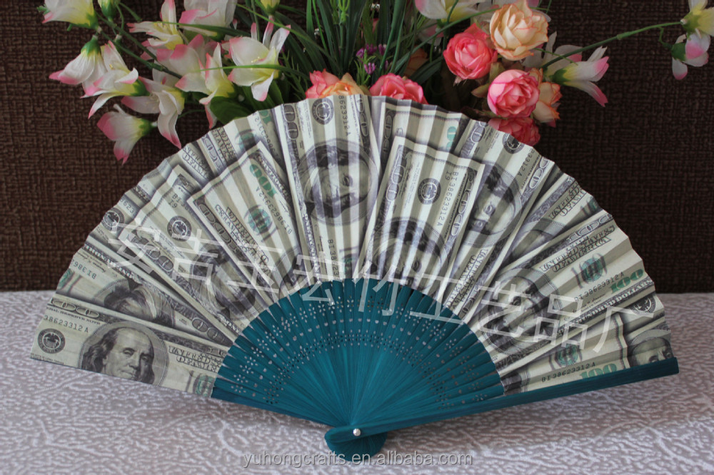 Japanese high quality bamboo paper fan