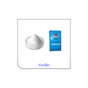 Flavoring Vanillin and Ethyl Vanillin Powder used in flavour and ice cream