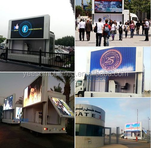 people tracking for advertisment ,Outdoor advertising LED mobile trucks for sale