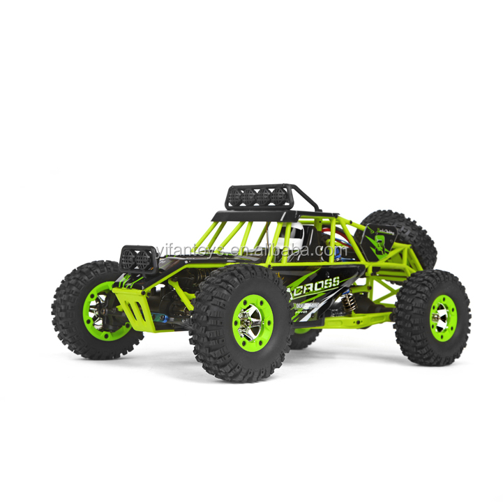 RC Four-wheel drive 1/12 climbing car 4CH with led light high speed car for sale