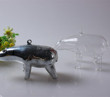 china manufacturer hot sale high quality hand made decoraitve animal shape promotional glass handicraft