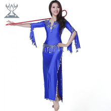 Wuchieal wholesale bellydance costumes baladi belly dance dress