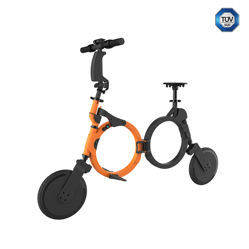CE approved dirt weight electric bike with two 10' small wheels