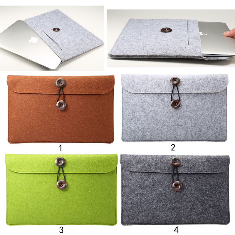 Sleeve Case Cover Ultrabook Netbook Tablet Bag Protective Carrying Case suitable for macbook 12-15.5 inch size