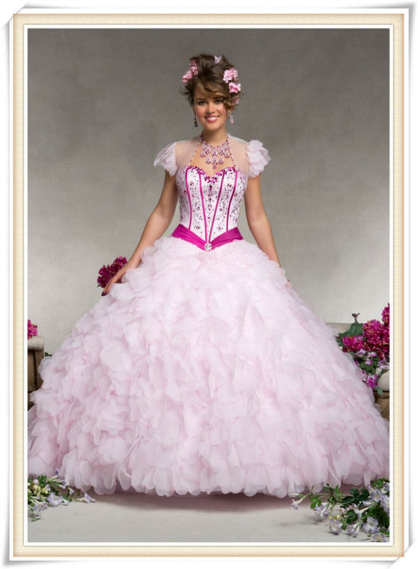 2014 new arrival six cheap elegent quinceanera supplies wholesale