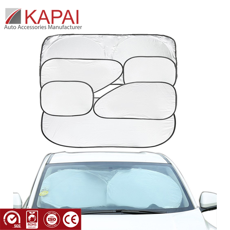 Car Windshield <strong>Sun</strong> Shade Set Of 6PCS Keep Vehicle Cool
