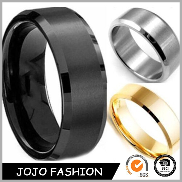 Fashion jewelry 2015 wholesale stainless ring for men gold ring silver ring