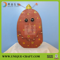 2013 Hot sell wooden hanging wall pumkin decoration halloween decoration