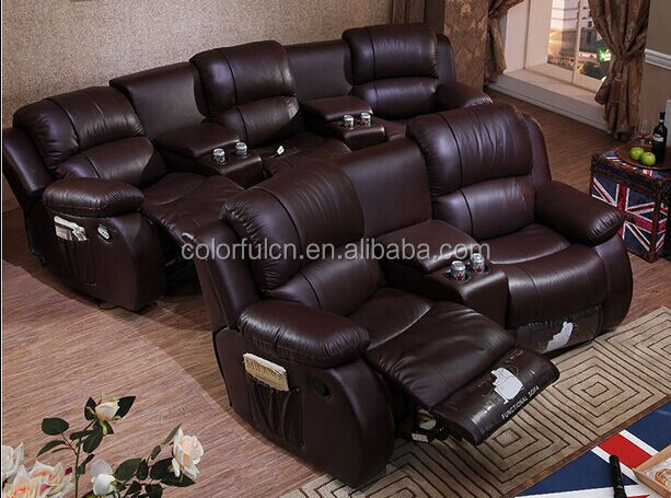 Home theater recliner sofa home cinema recliner chair home cinema recliner so - Home cinema 2 1 blanc ...