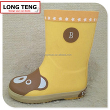 2015 kids rubber rain boots footwear with cheap price