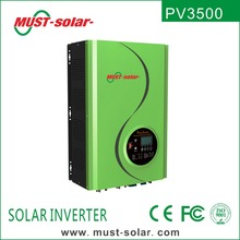 < MUST SOLAR >Off Grid Solar Power Inverter 5000w 6000w 8000w 10000w with built-in MPPT Charge Controller