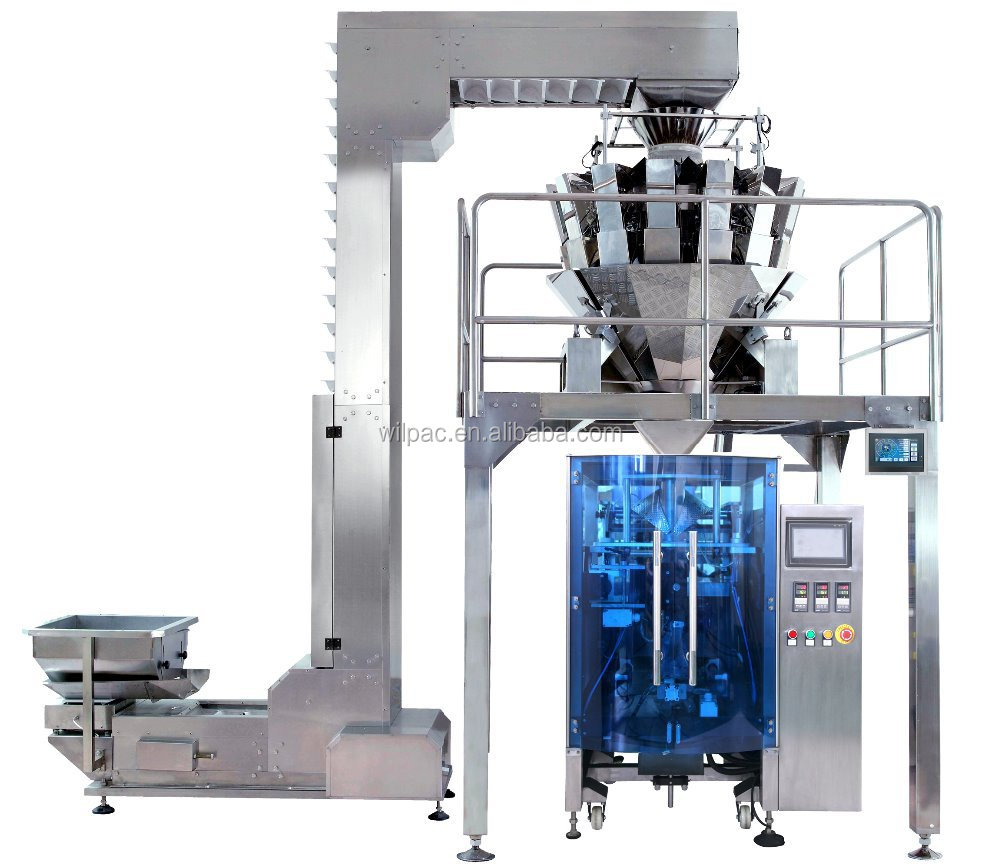 Automatic form fill seal packing machine for raisin
