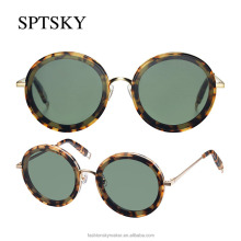 Newest technology acetate woman sunglasses fashionable for pretty women