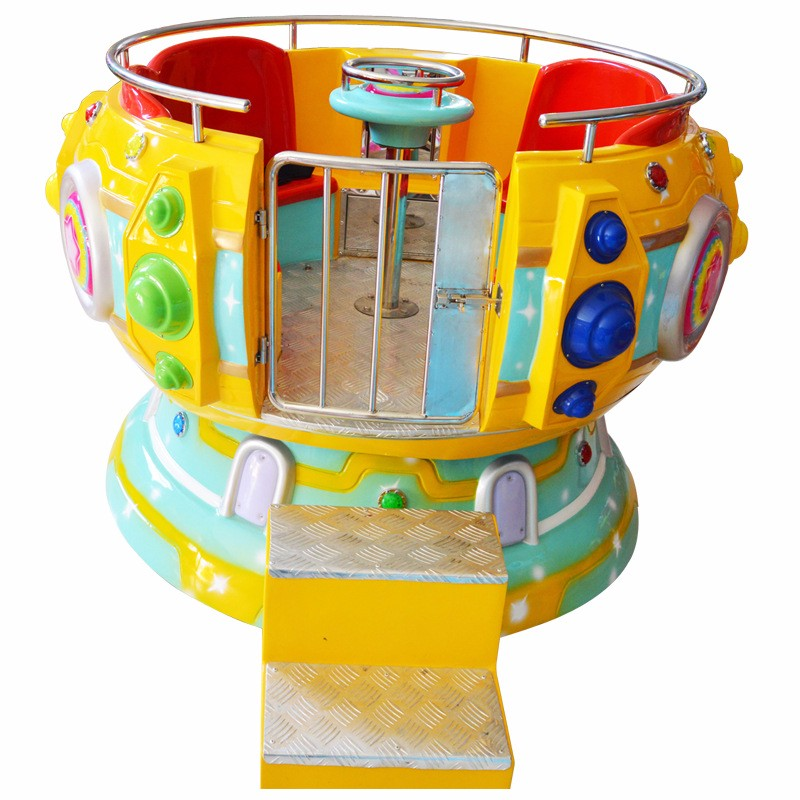 4 persons mini Disco Tagada for kids indoor playground equipment