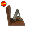low price Decorative small home decor wooden base metal letters