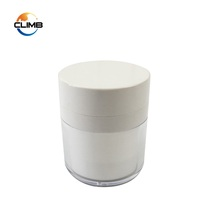 China supliers Custom Color 30g 50g 2oz Skin Care Whitening Plastic Face Hand Airless lotion Pump Jar