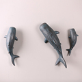 Elaborate wall decoration flying shark crafts for cheap wholesale