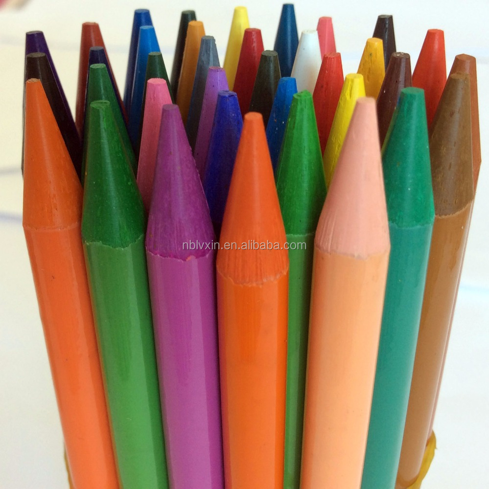 high quality 6/8/10/12/15/24 Colors Woodless colored pencil supplier