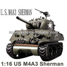 US rc sherman tank henglong rc tank 1:16 sherman tank